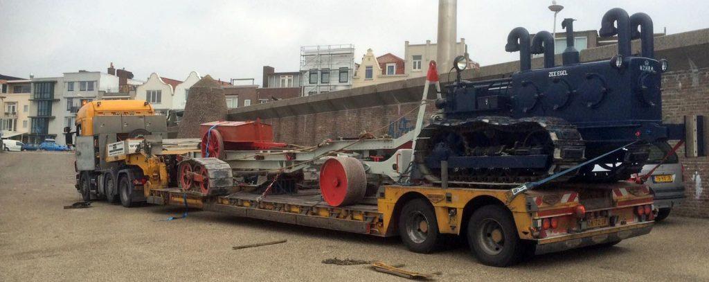 transport materiaal Kurt Carlsen